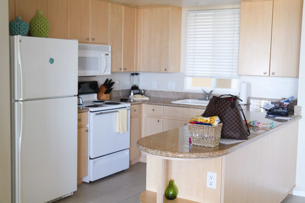Grand Pacific Palisades Resort Villa Kitchen