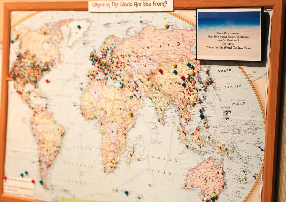 Hotel Del Coronado Guest Map