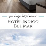 A review of Hotel Indigo Del Mar, a boutique hotel near the beach that is great for families, pets, and good value for money. What to know.