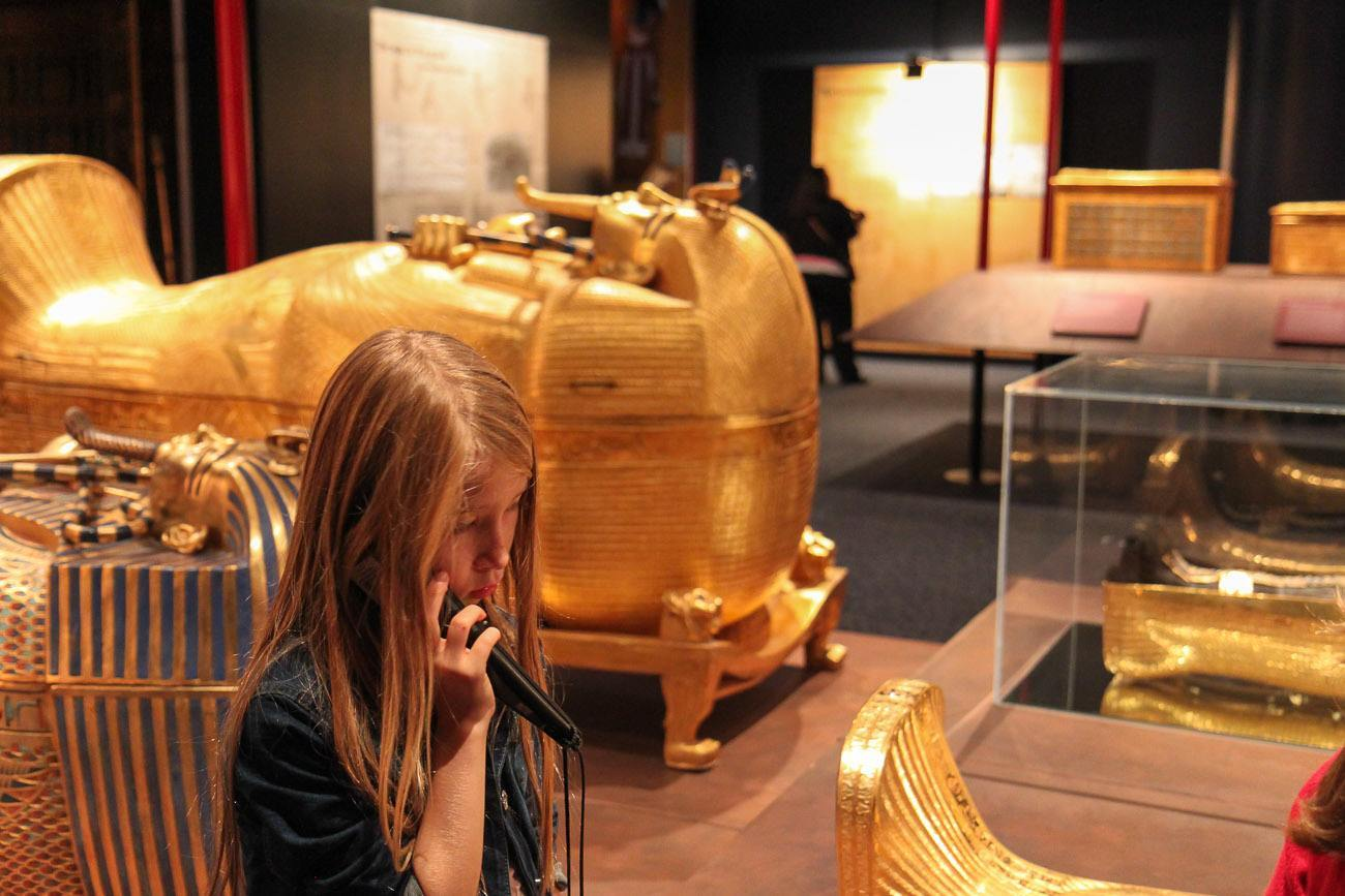 Thenat S King Tut Exhibit Is A Must See For Kids La