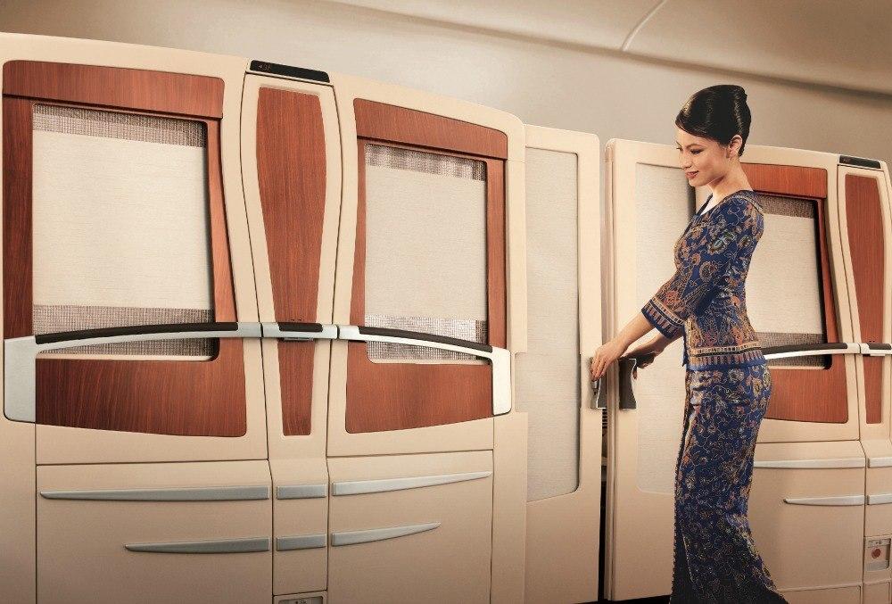 Singapore Airlines suites class exterior vie