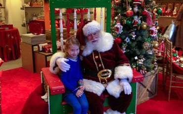 Breakfast with Santa at Neiman Marcus San Diego