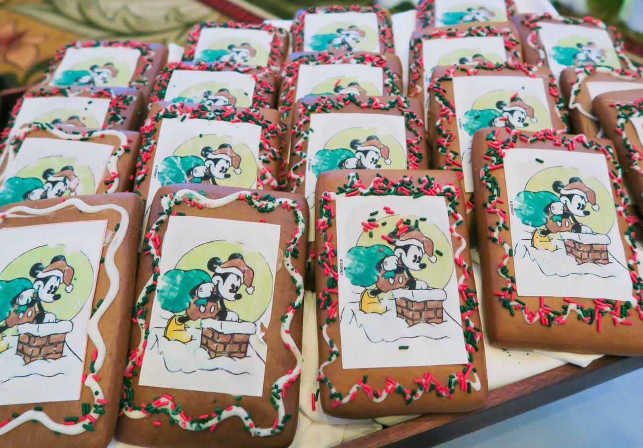 Disneyland's gingerbread shingles recipe