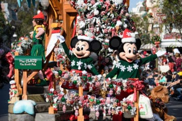 Find out what's happening during the holiday season at Disneyland Resort in California including this year's seasonal food, new gifts, ride changes, special events and more.