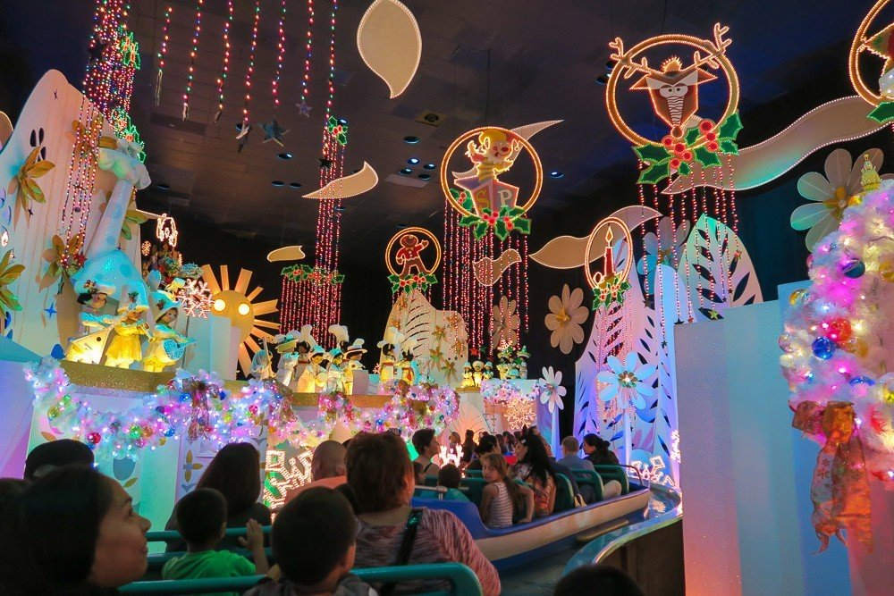 """its a small world"" is decked out for the holidays!"