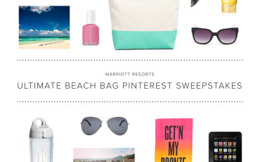 Marriott Resorts Ultimate Beach Bag Pinterest Contest