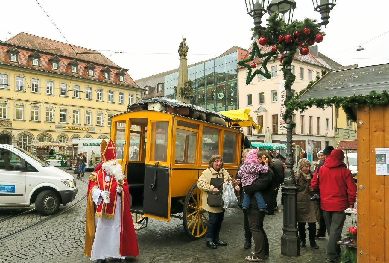 Saint Nicholas in Wurzburg, Germany