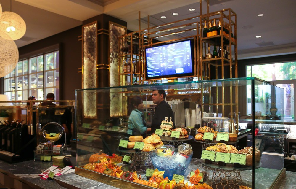 Press At Four Seasons Hotel Las Vegas Offers To Go Morning Coffee And Snacks