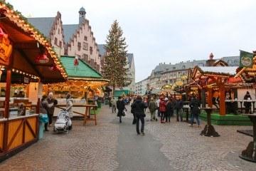 The Frankfurt Christmas market (Weihnachtsmarket)