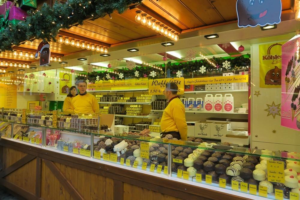 Frankfurt Christmas Market Desserts