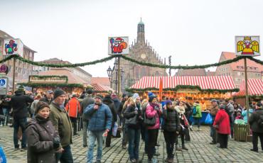 Nuremberg Christmas Market (Christkindlesmarkt) is Germany's most famous