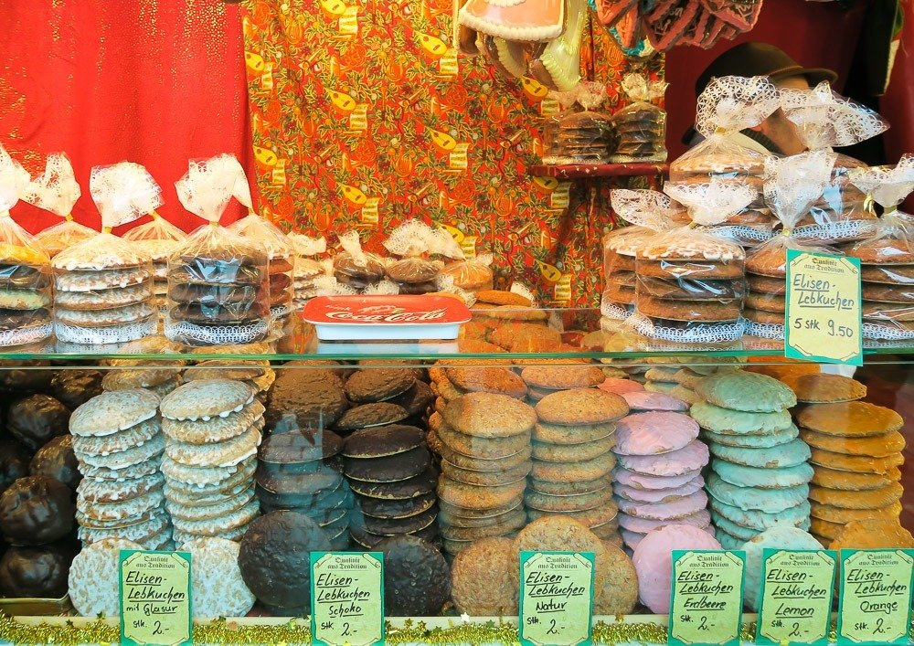 Nuremberg is famous for gingerbread or lebkuchen