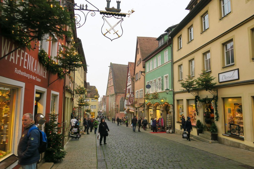 Outside of the Christmas Markets, Rothenburg is full of local boutiques