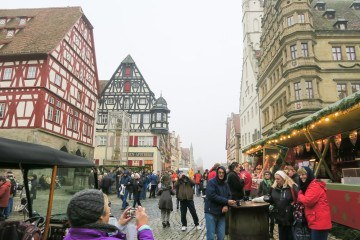 The Rothenburg Christmas Market is just amazing