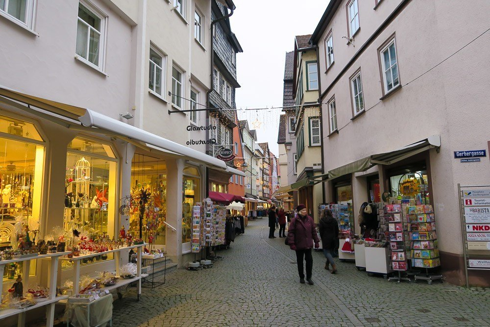 Shop the many boutiques in Wertheim, Germany