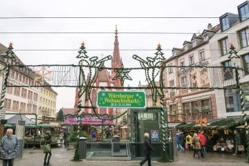What it's like at the Wurzburg Christmas Market
