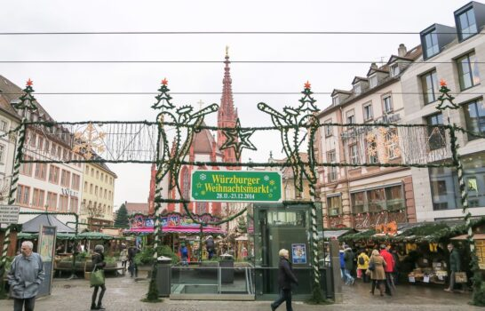 Wurzburg's Christmas Market and Attractions in Pictures