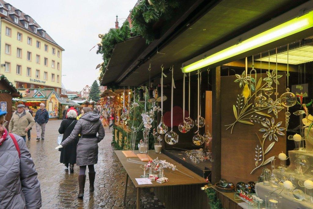 Wurzburg Christmas Market glass ornaments