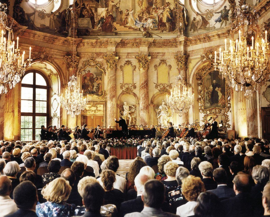 Inside the opulent Wurzburg Residence, a UNESCO Heritage Site