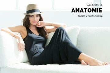 Anatomie luxury travel clothing giveaway