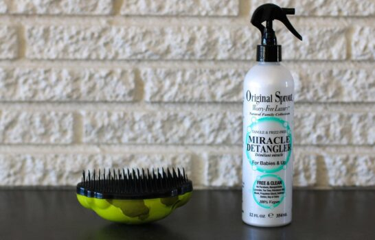 How to Easily Detangle a Child's Hair