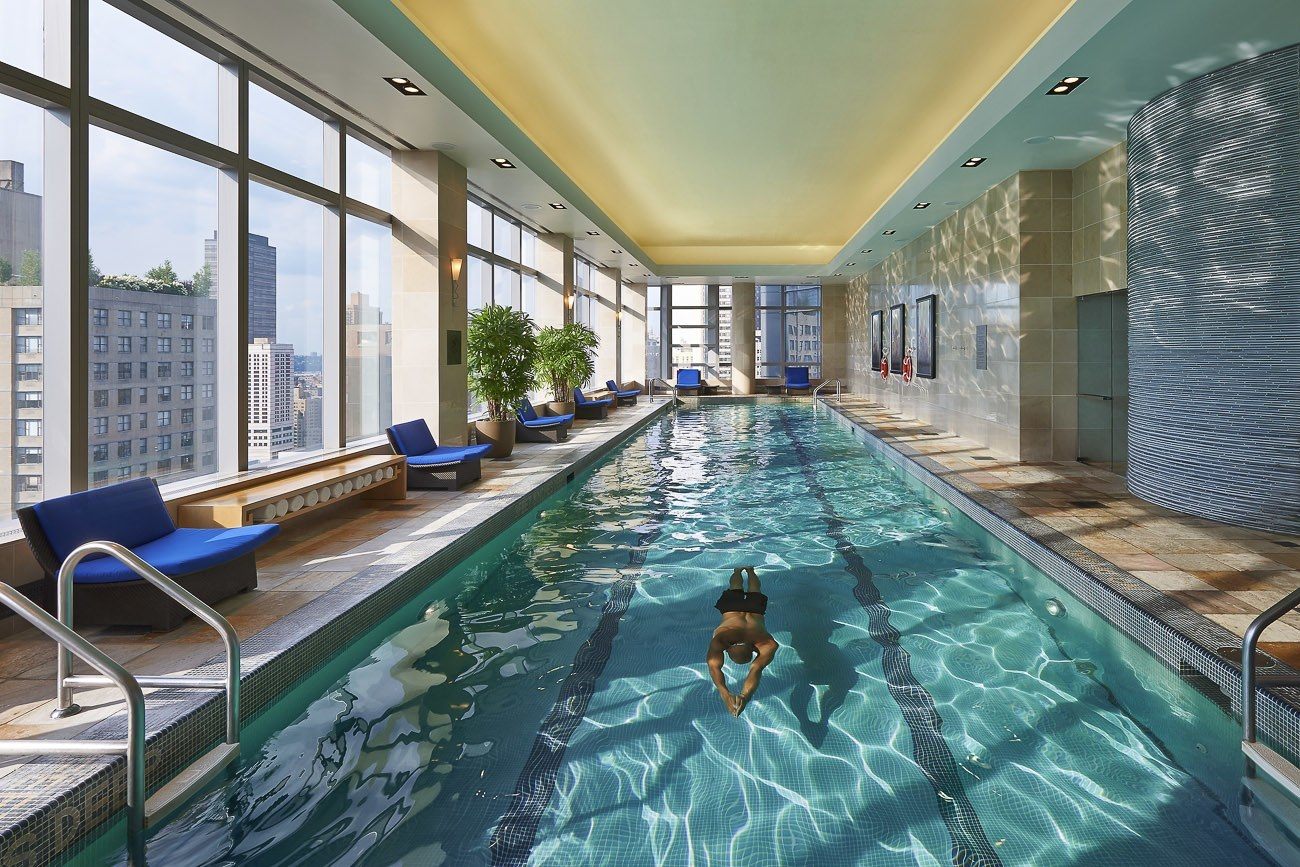 Mandarin Oriental, New York pool
