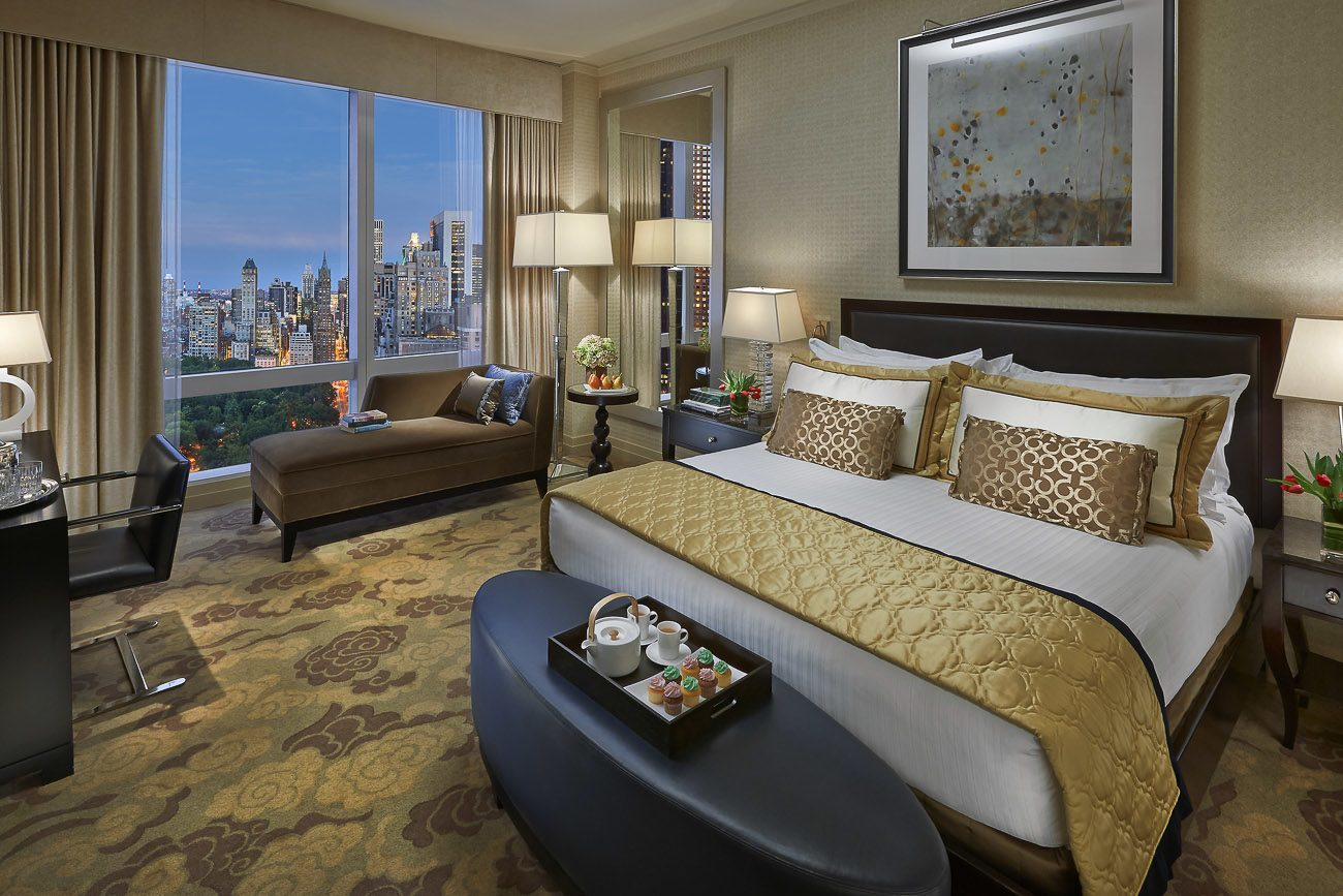 Mandarin Oriental New York Central Park View Room