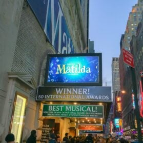 Review: Matilda the Musical in New York City