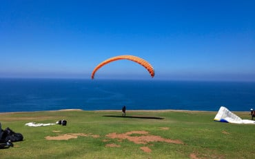 Fantastic views at the Torrey Pines Gliderport in La Jolla