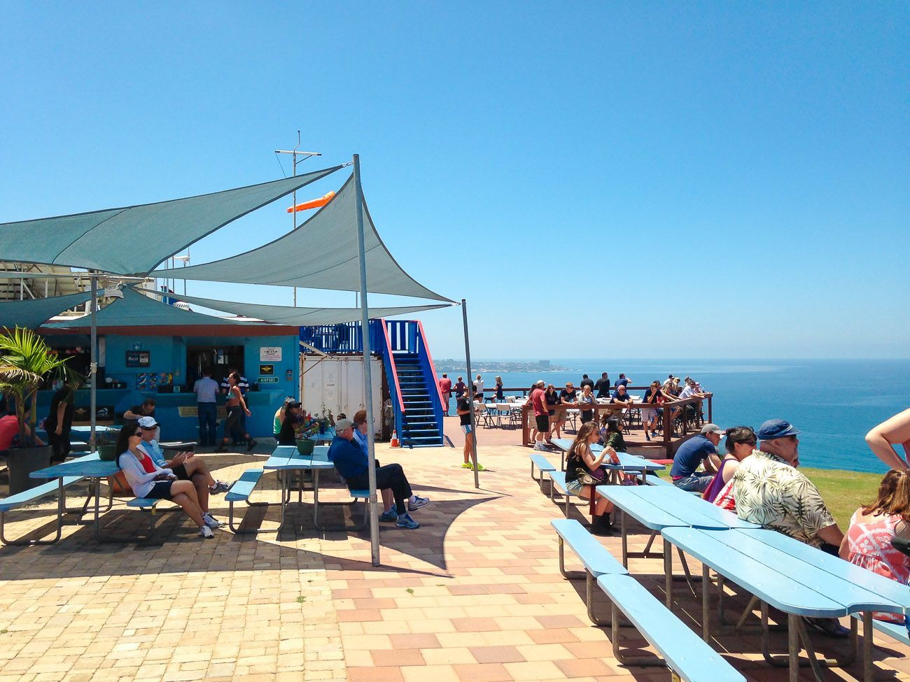 The Cliffhanger Cafe at the Torrey Pines Gliderport