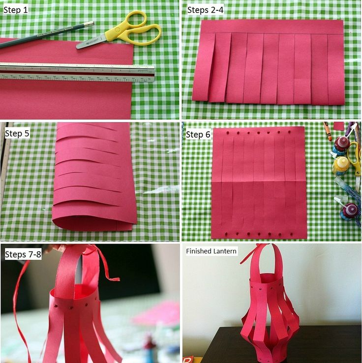 How to make paper lanterns for chinese new year la jolla mom for Easy things to make out of paper for kids