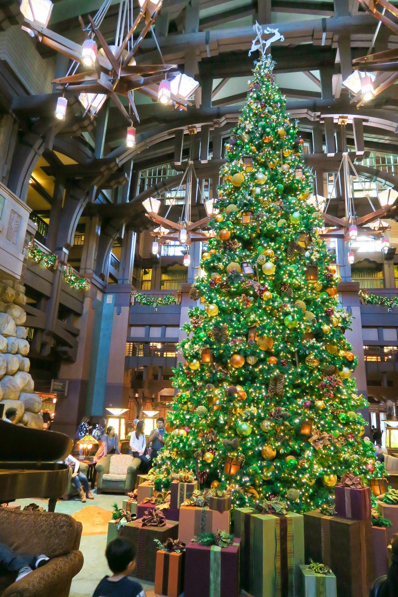 disney grand californian resort christmas tree