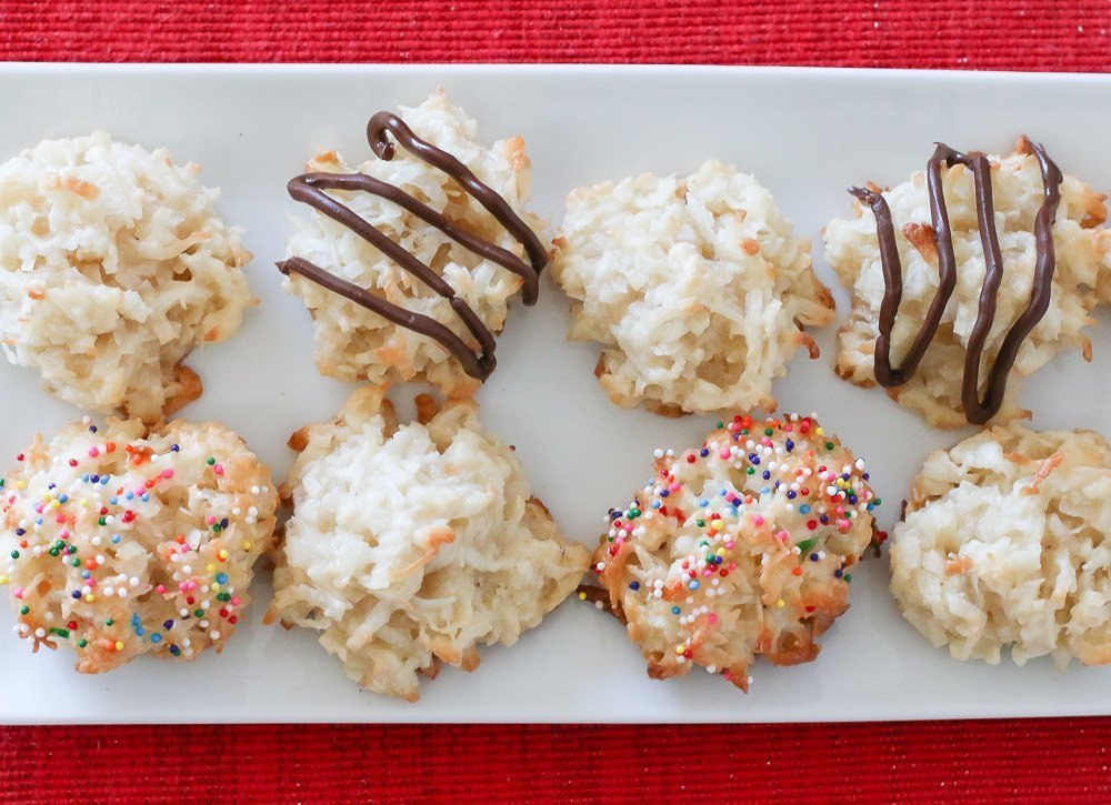 An easy coconut macaroon recipe
