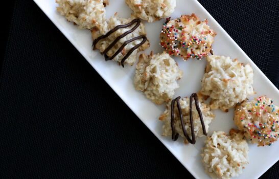 Quick and Healthier Coconut Macaroon Recipe