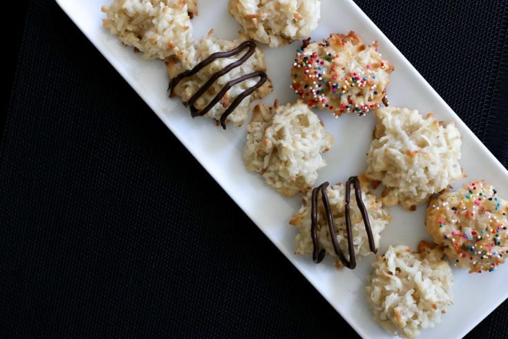 Recipe: Quick and Healthier Coconut Macaroons