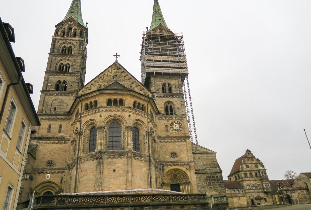 Exterior view of the Bamberg Cathedral