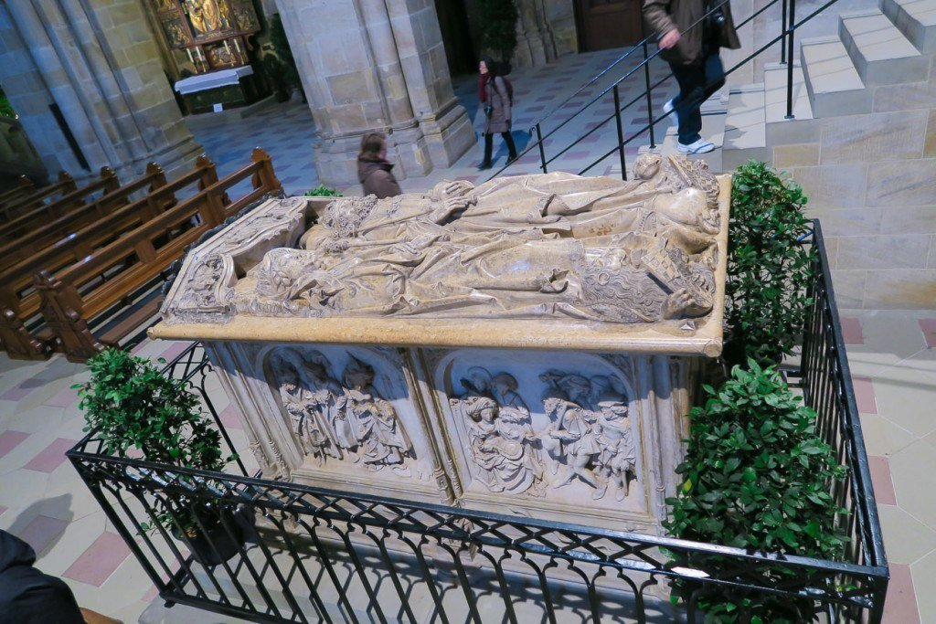 The tomb of Henry Cunegund inside Bamberg Cathedral
