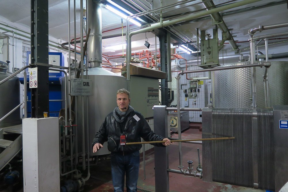 A behind-the-scenes tour of Klosterbrau brewery in Bamberg, Germany