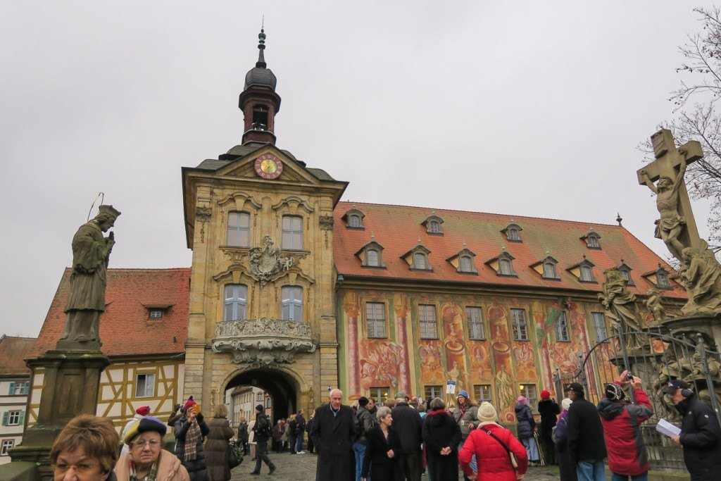 The Old Town Hall in Bamberg, Germany