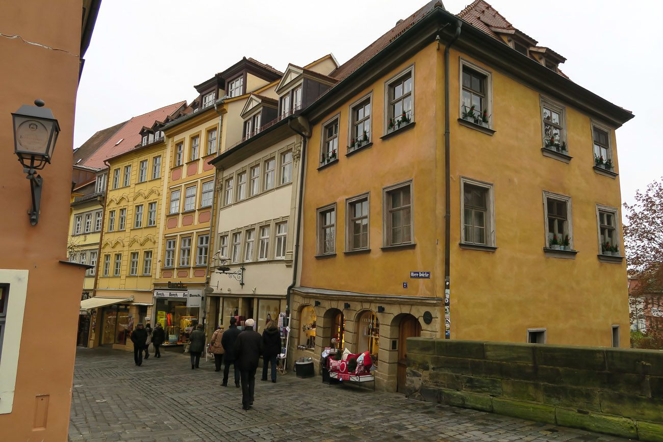 Shopping the boutiques of Bamberg, Germany