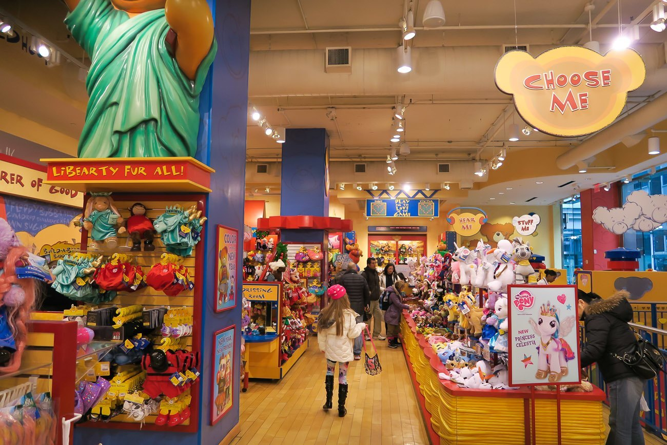 Build-A-Bear store (the world's largest) in New York City