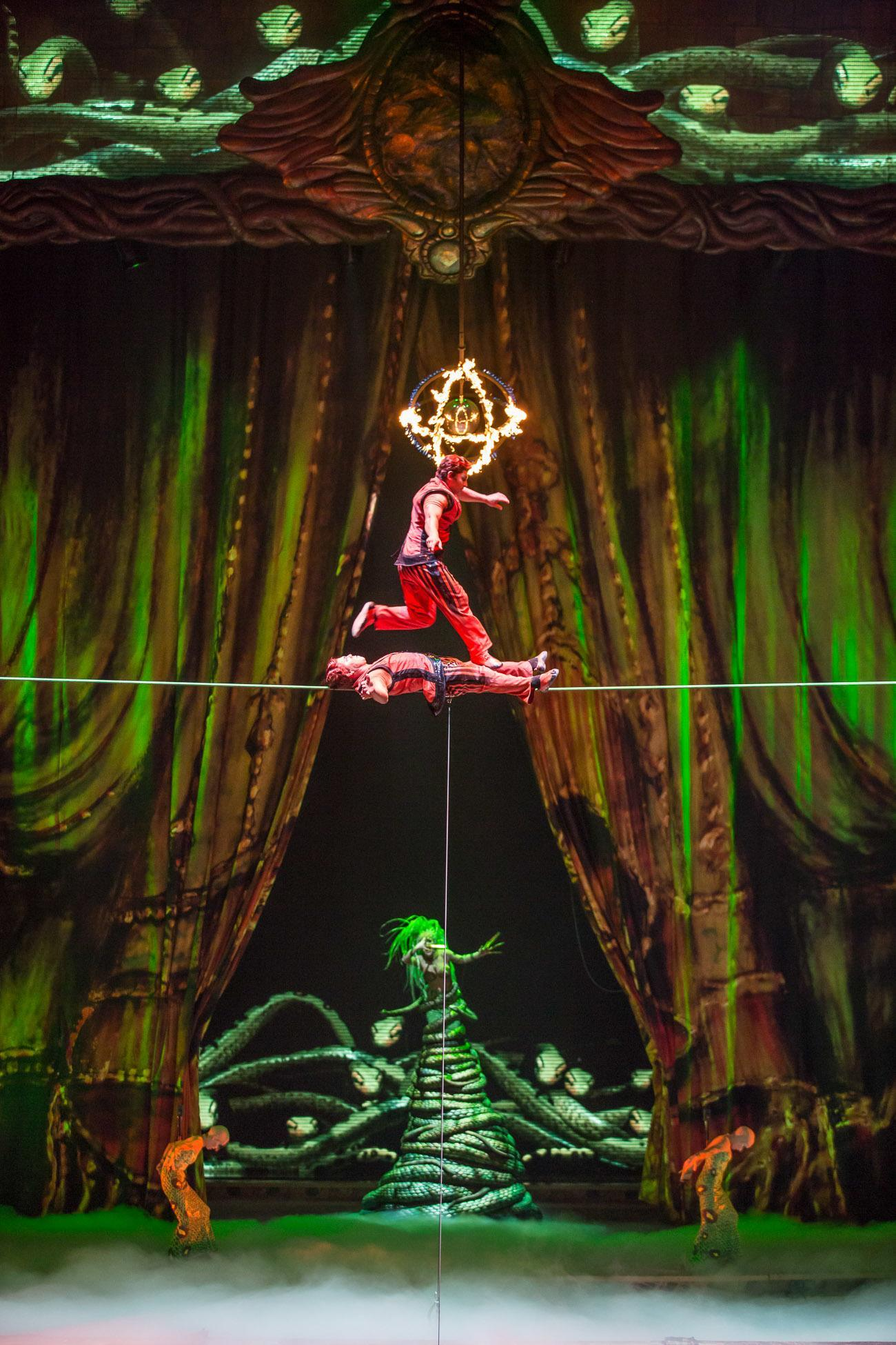 Cirque du Soleil 'Zarkana' show at the Aria