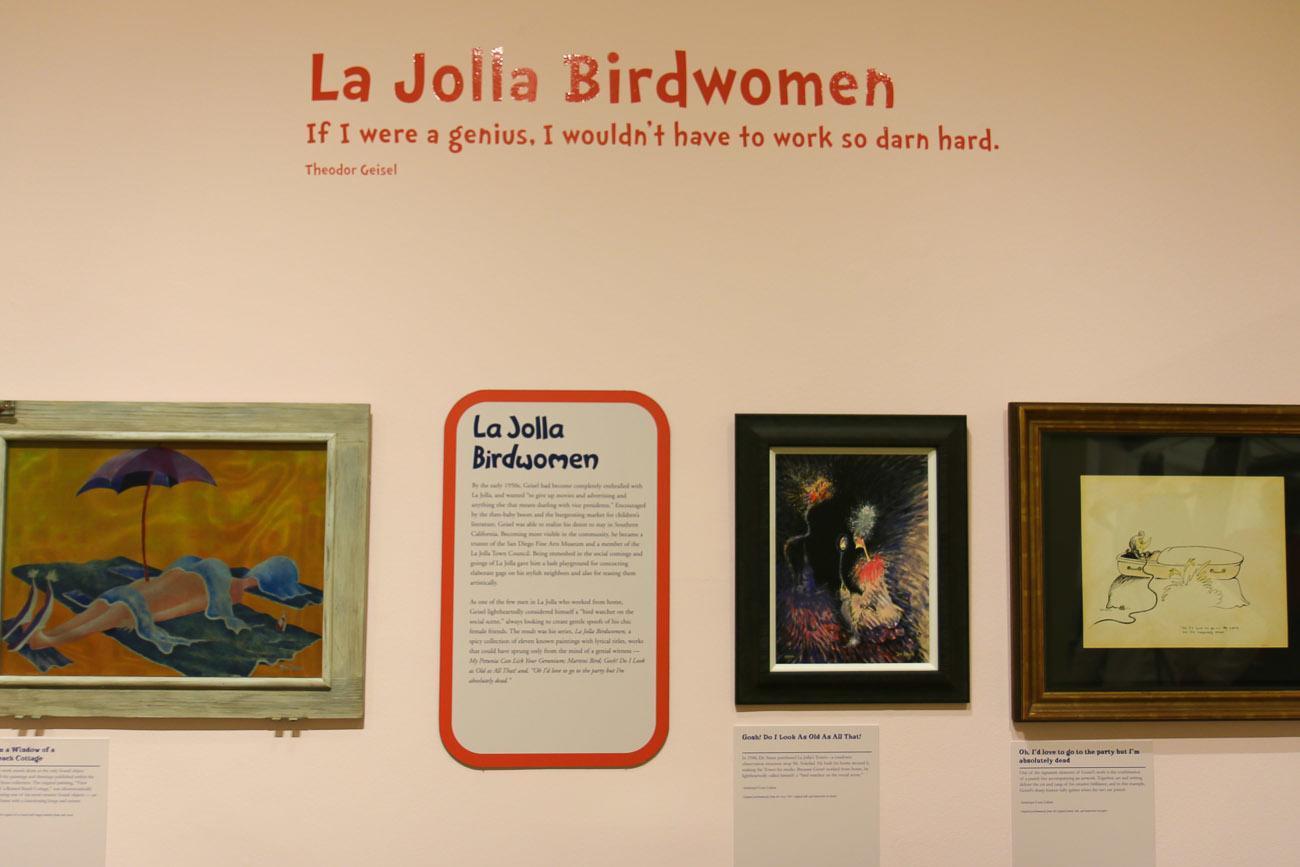 Dr. Seuss La Jolla Birdwomen