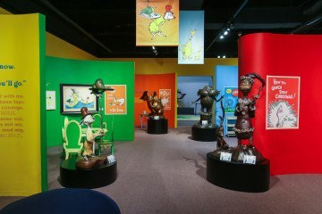 See the Dr. Seuss exhibit at the San Diego History Center