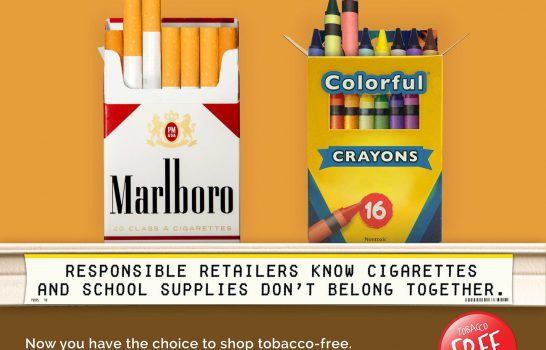 How to Tell Favorite Retailers You Want to Shop Tobacco Free