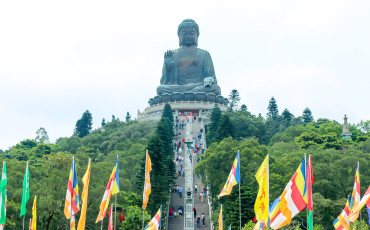 The Big Buddha and Po Lin Monastery are very popular Hong Kong attractions for a good reason.