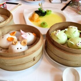 Cute Disney Dim Sum at Hong Kong Disneyland