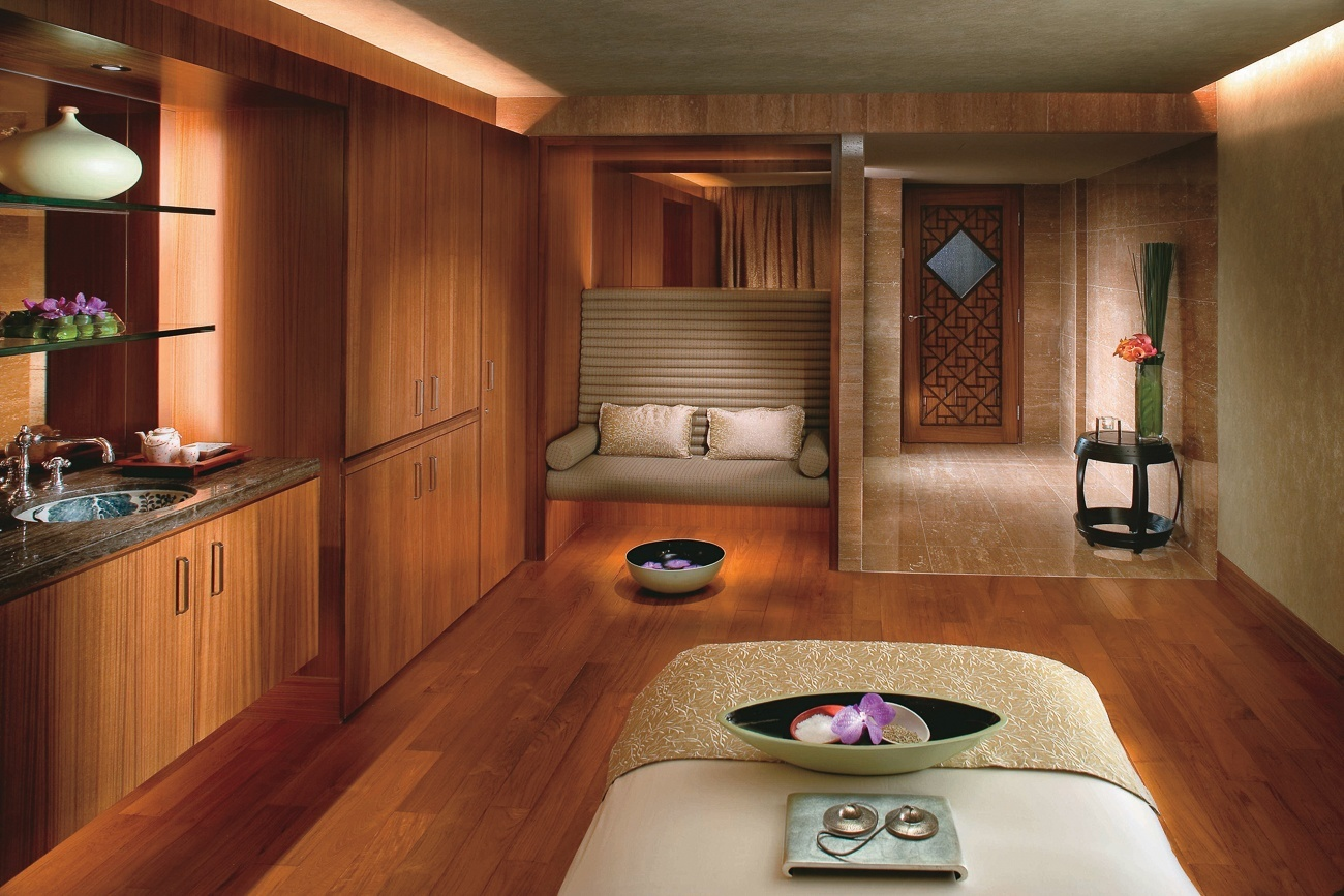 A Treatment With Jade At The Mandarin Spa In Hong Kong