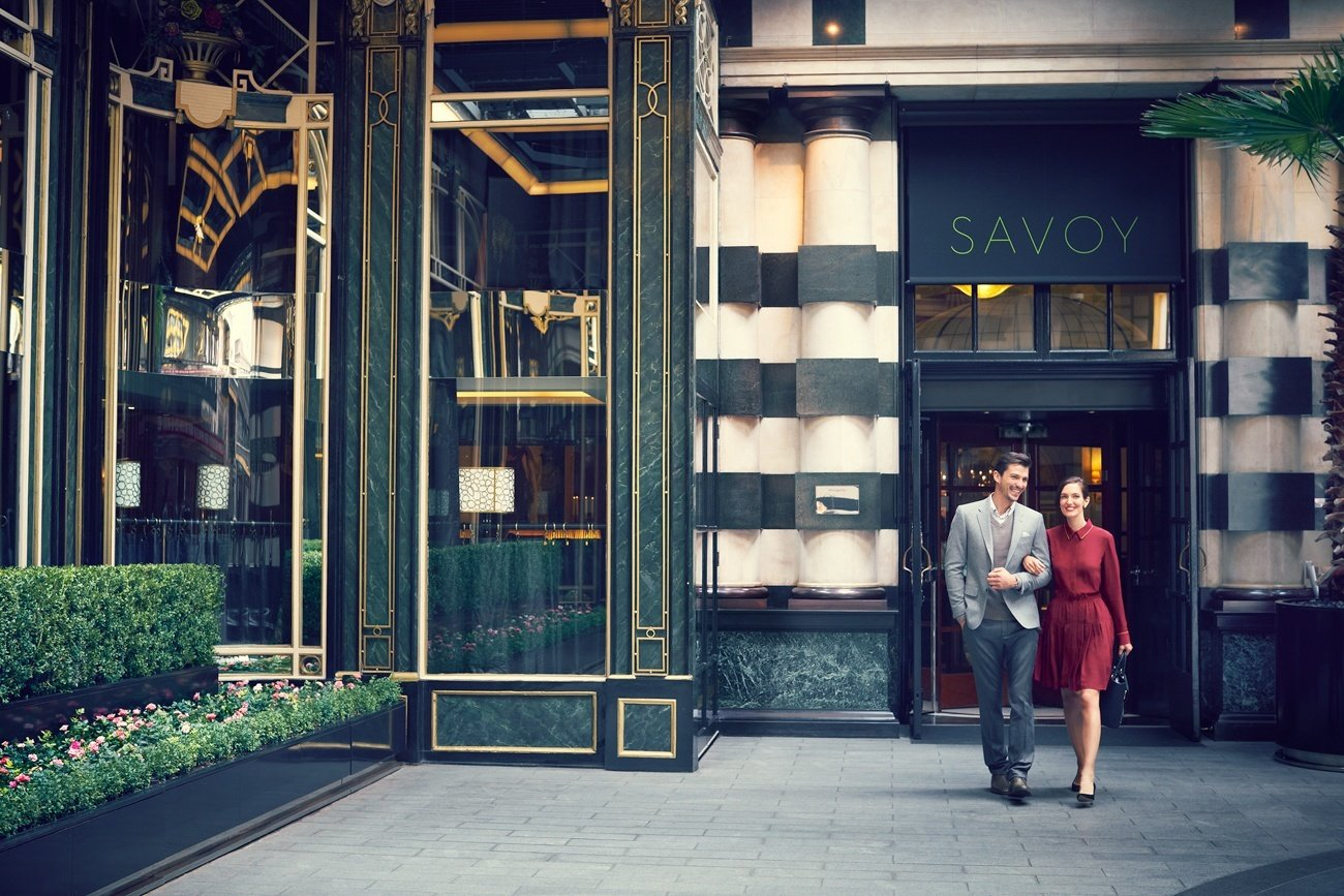 The Savoy, an iconic luxury hotel in London