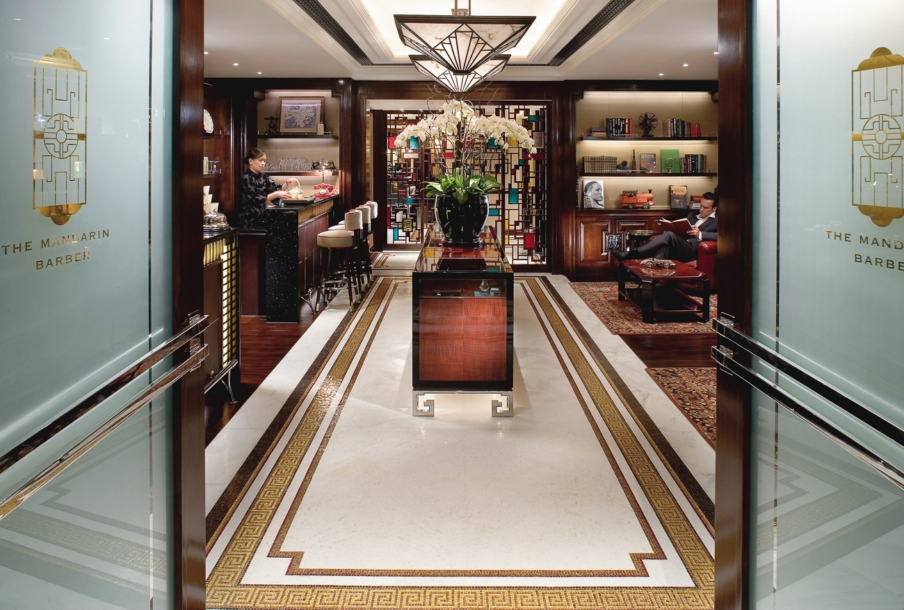 The Mandarin Barber in Hong Kong